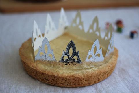 recette de gâteau breton revisité en galette des rois pour les enfants