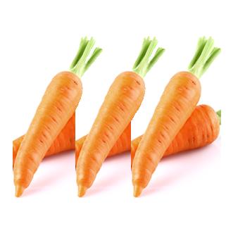 niveau de difficulté de la recette avec des carottes moyen