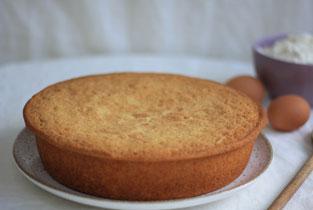 photo d'un gâteau au yaourt