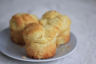 brioches au beurre pauvres en sucre