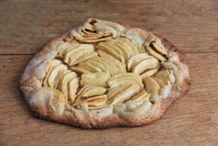 tarte aux pommes du jardin recette facile à faire par des enfants