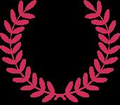 lauriers de César couleur framboise